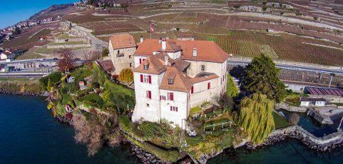 Dégustation au Château de Glérolles