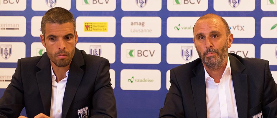 Fabio Celestini & Alain Joseph, Lausanne-Sport